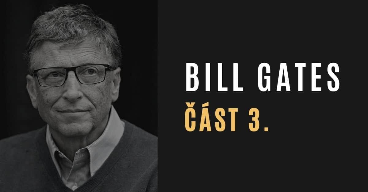 Bill Gates a systém kontroly populace (část 3/4)