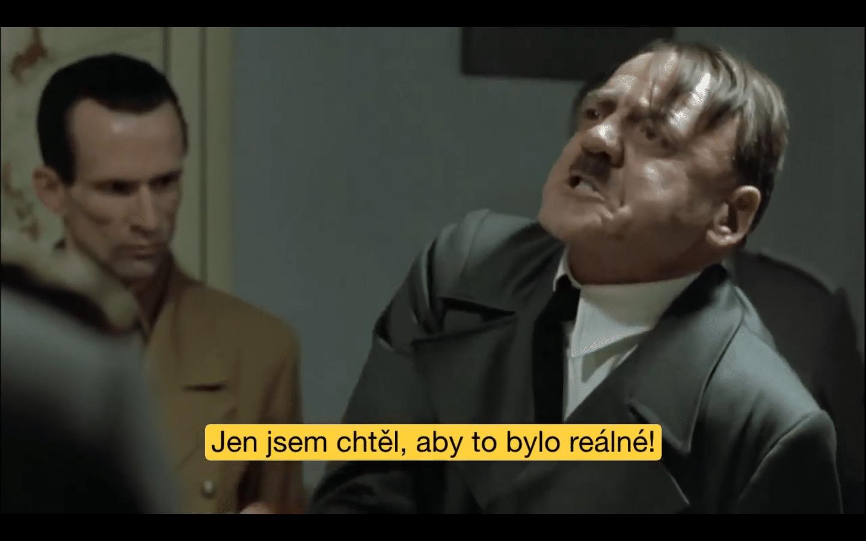 Hitler reaguje na pravdu existence & osvícení (Parodie)