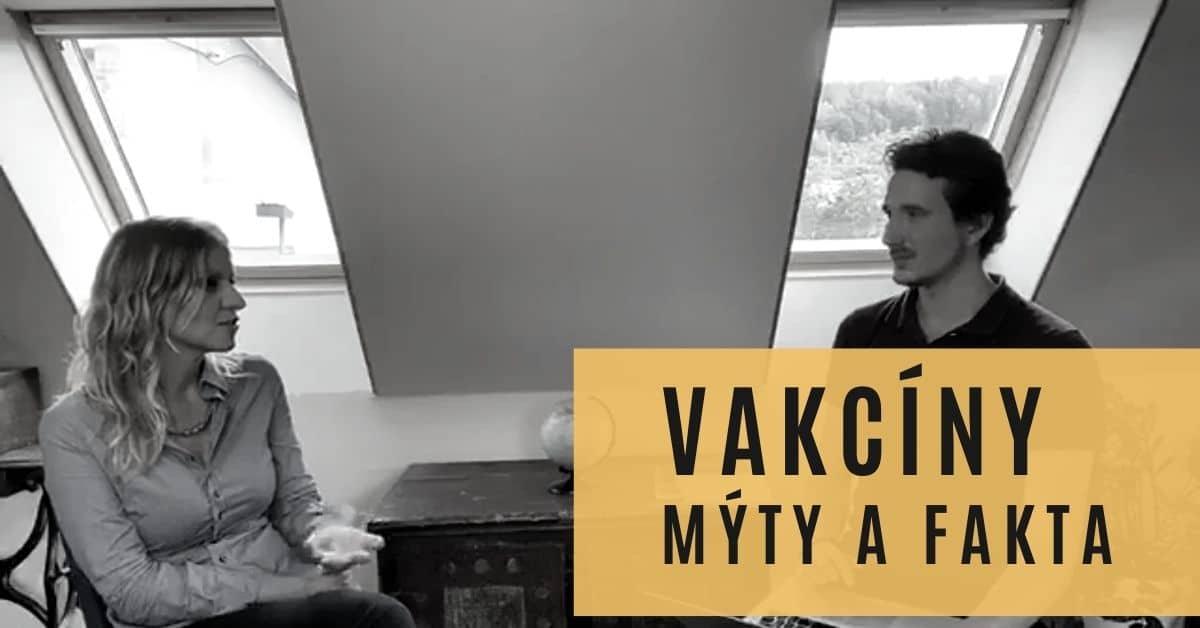 Mýty a fakta o vakcínách – záznam z živého rozhovoru s Alenou Chládkovou